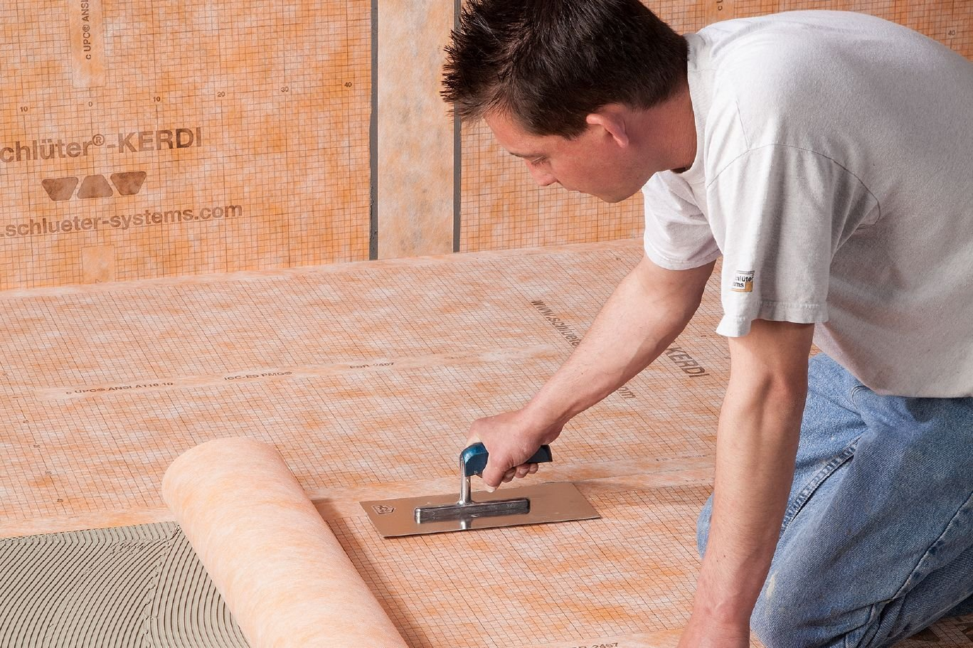 Schluter Kerdi 108 Sq Ft Waterproofing Membrane by Kerdi