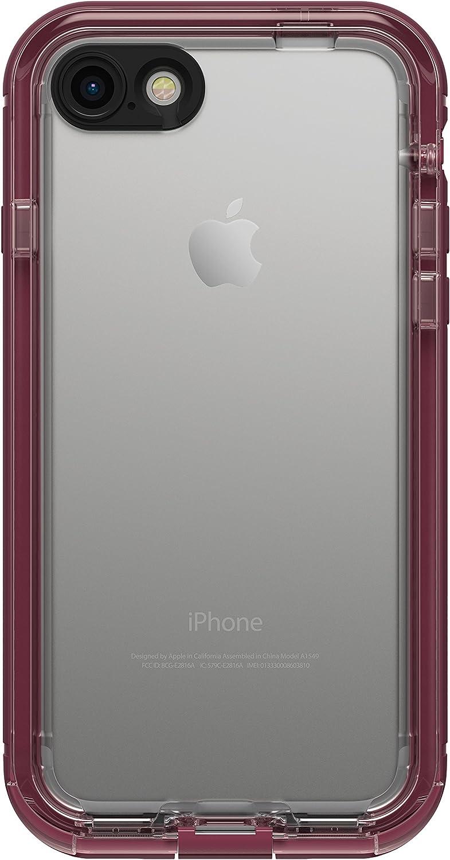 LifeProof NÜÜD SERIES Waterproof Case for iPhone 7 (ONLY) - Retail Packaging - PLUM REEF (WILD BERRY/DEEP PLUM PURPLE/CLEAR)