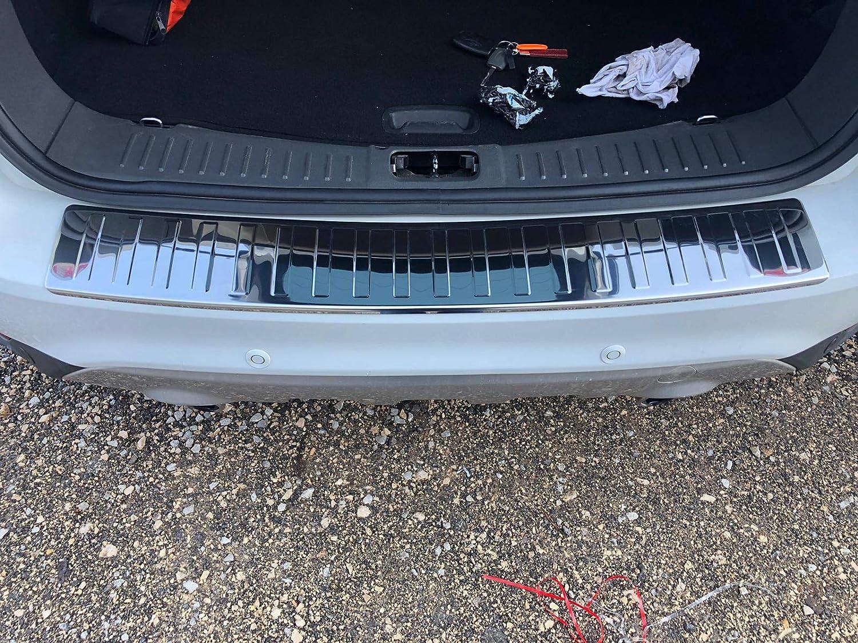 Protezione antigraffio per paraurti posteriore Kuga MK1 in acciaio inox cromato