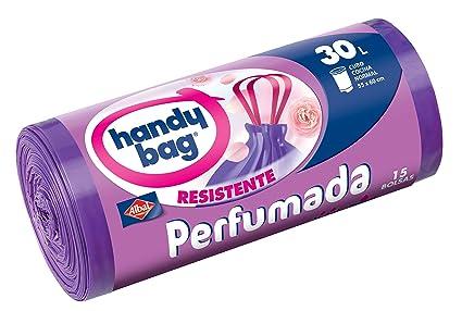 Handy Bag Bolsa de Basura, Perfumada, 30 L - 15 Unidades ...