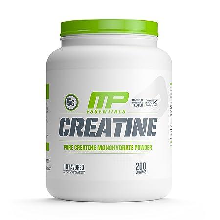MP Essentials Micronized Creatine, Ultra-Pure 100 Creatine Monohydrate Powder, Muscle-Building, Protein Creatine Powder, Creatine Monohydrate Powder, 1000 g, 200 Servings