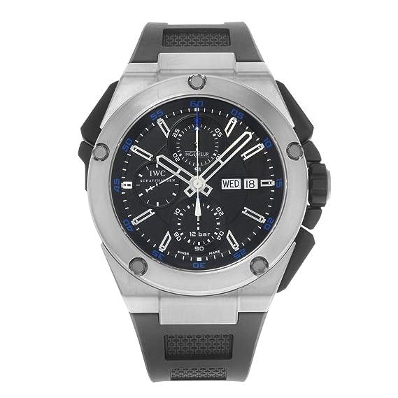 IWC - Reloj de pulsera hombre, caucho, color negro