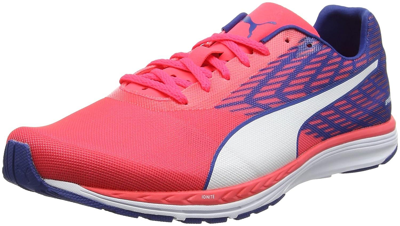 Puma Speed 100 R Ignite, Zapatillas de Running para Hombre 42 EU|Rosa (Bright Plasma-true Blue-puma White 04)