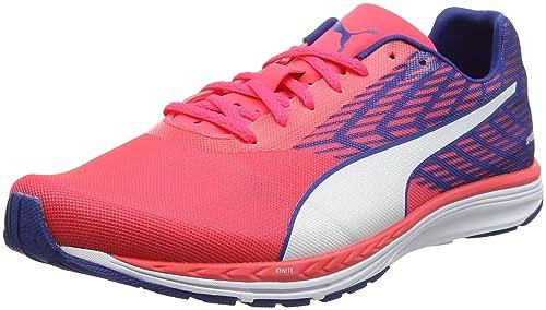 Puma Men's Speed 100 R Ignite Running Shoes, Pink (Bright Plasma-True Blue