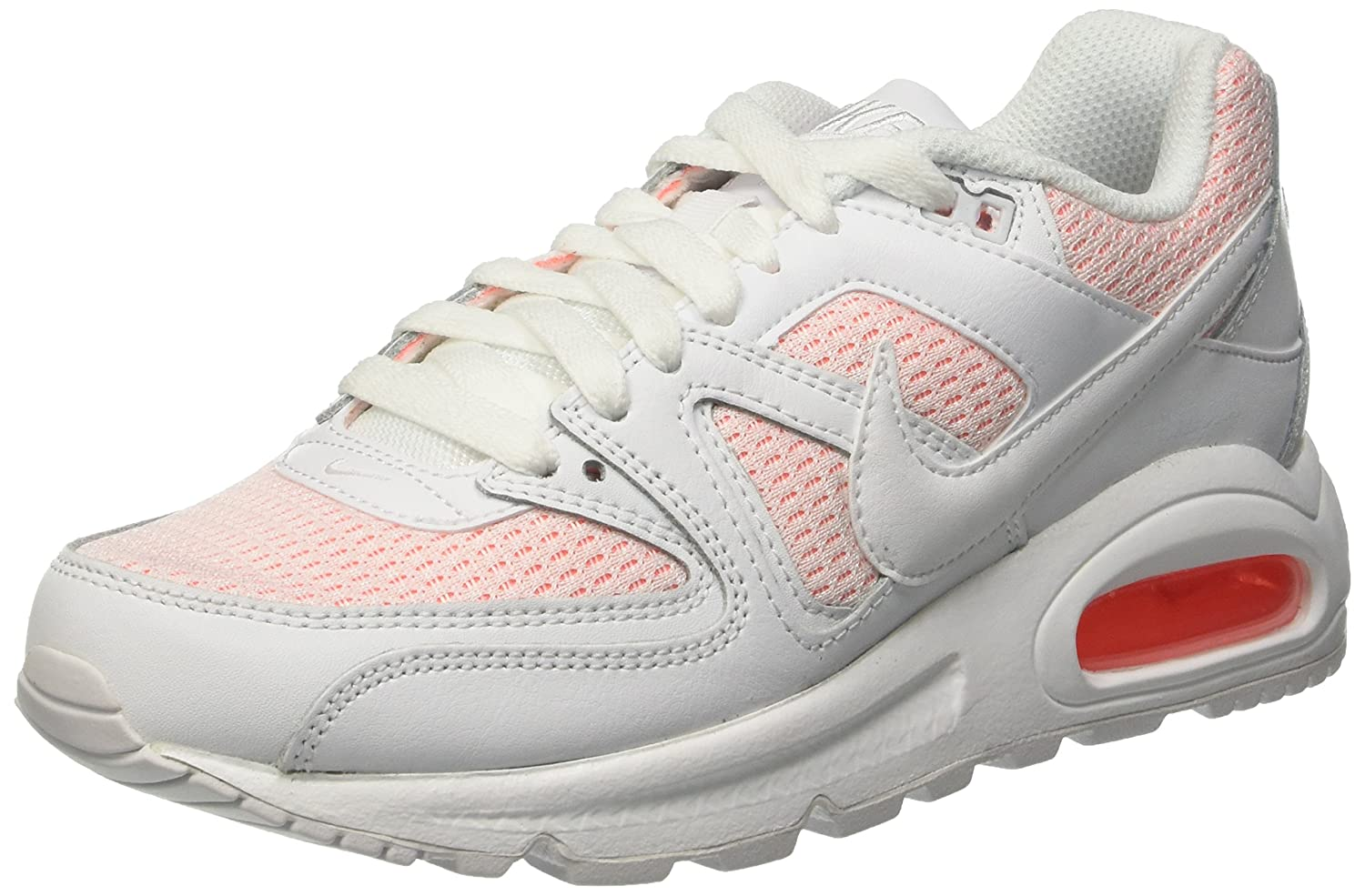 Nike Damen Wmns Air Max Command Gymnastik Bianco (White/White/Bright Mango)