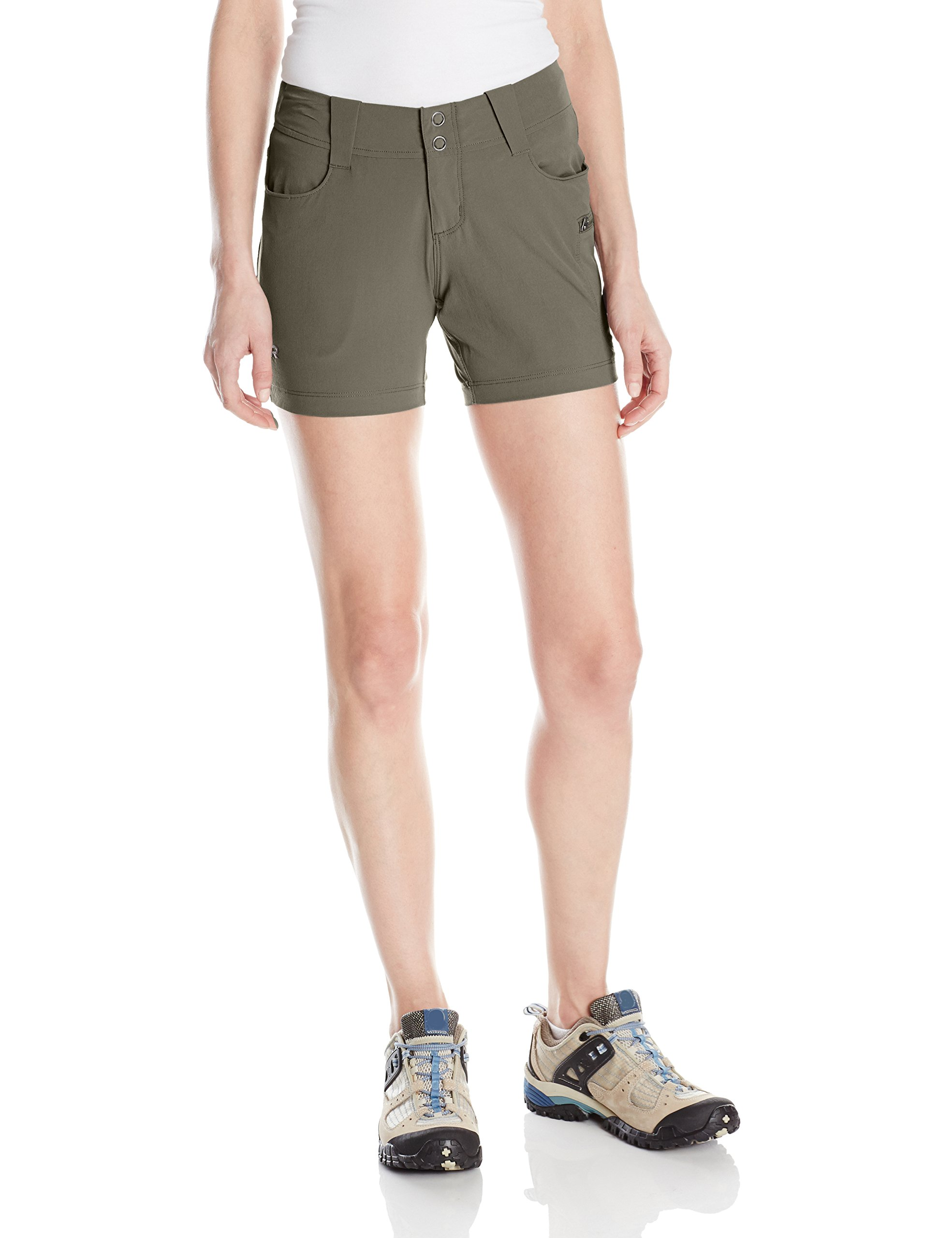 Outdoor Research Women's Ferrosi Summit Shorts, Mushroom, 6 by Outdoor Research