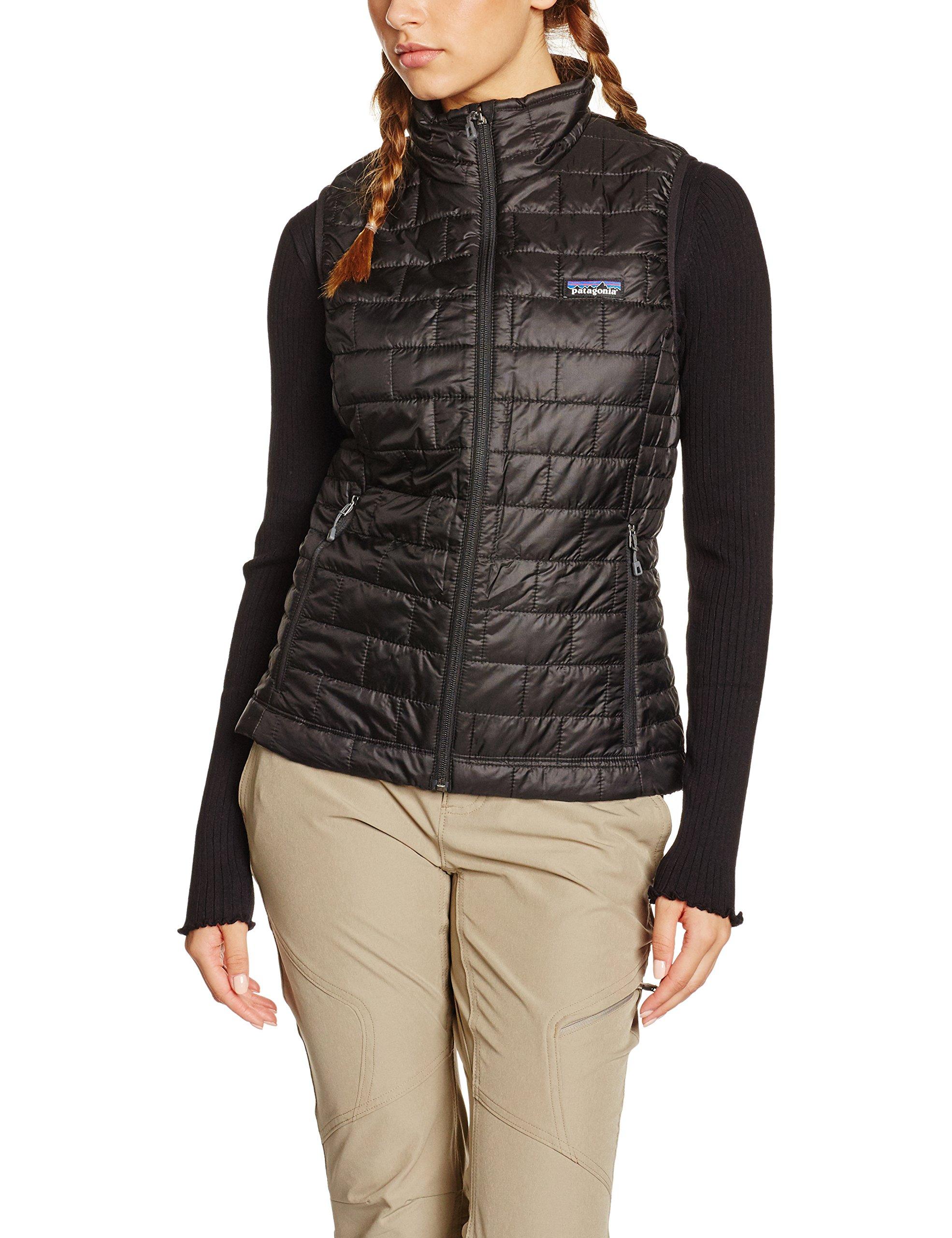 Patagonia Womens Nano Puff Vest - Black (BLK) (M) by Patagonia