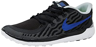 buy popular a73ae ef23c Nike Men's Free Run 5.0 Black Running Shoes - 9 UK/India (44 ...