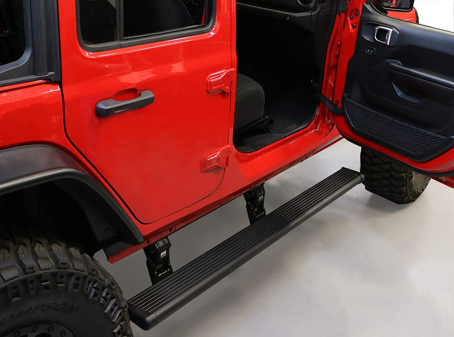 Electric Running Boards >> Amazon Com Amp Research 75132 01a Powerstep Electric