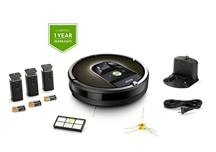 b55ecaf82f2 Image Unavailable. Image not available for. Color  iRobot Roomba 980 Robot  Vacuum ...