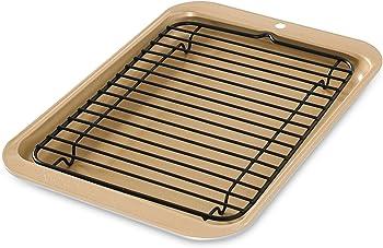 Nordic Ware 42210 Toaster Oven 2-Piece Broiler Set