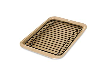 Nordic Ware 42210 Toaster Oven Broiler Pan