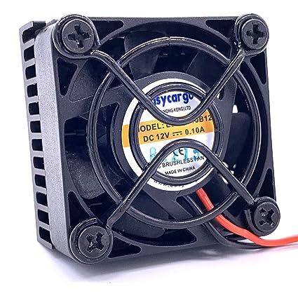Easycargo 40mm ventilador disipador térmico kit, disipador calor + ...