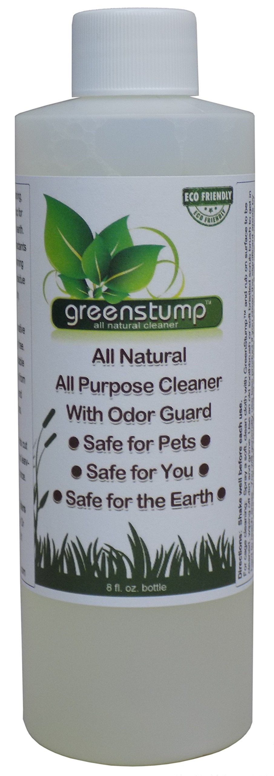GreenStump 8 oz Pet Cage and Toy Natural Cleaner