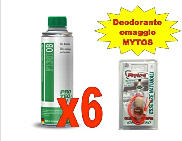 Nr 6 Pro Tec Oil Booster Motoröl Optimizer 375ml P1301 Gratis Mytos Lufterfrischer Auto