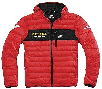 100% Geico Honda modo chaqueta - rojo - pequeñas (S) 39902 - 003 - 10: Amazon.es: Coche y moto
