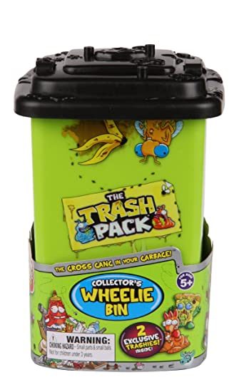 The Trash Pack Wheelie Bin And Ooze Chamber Playsets Image 4