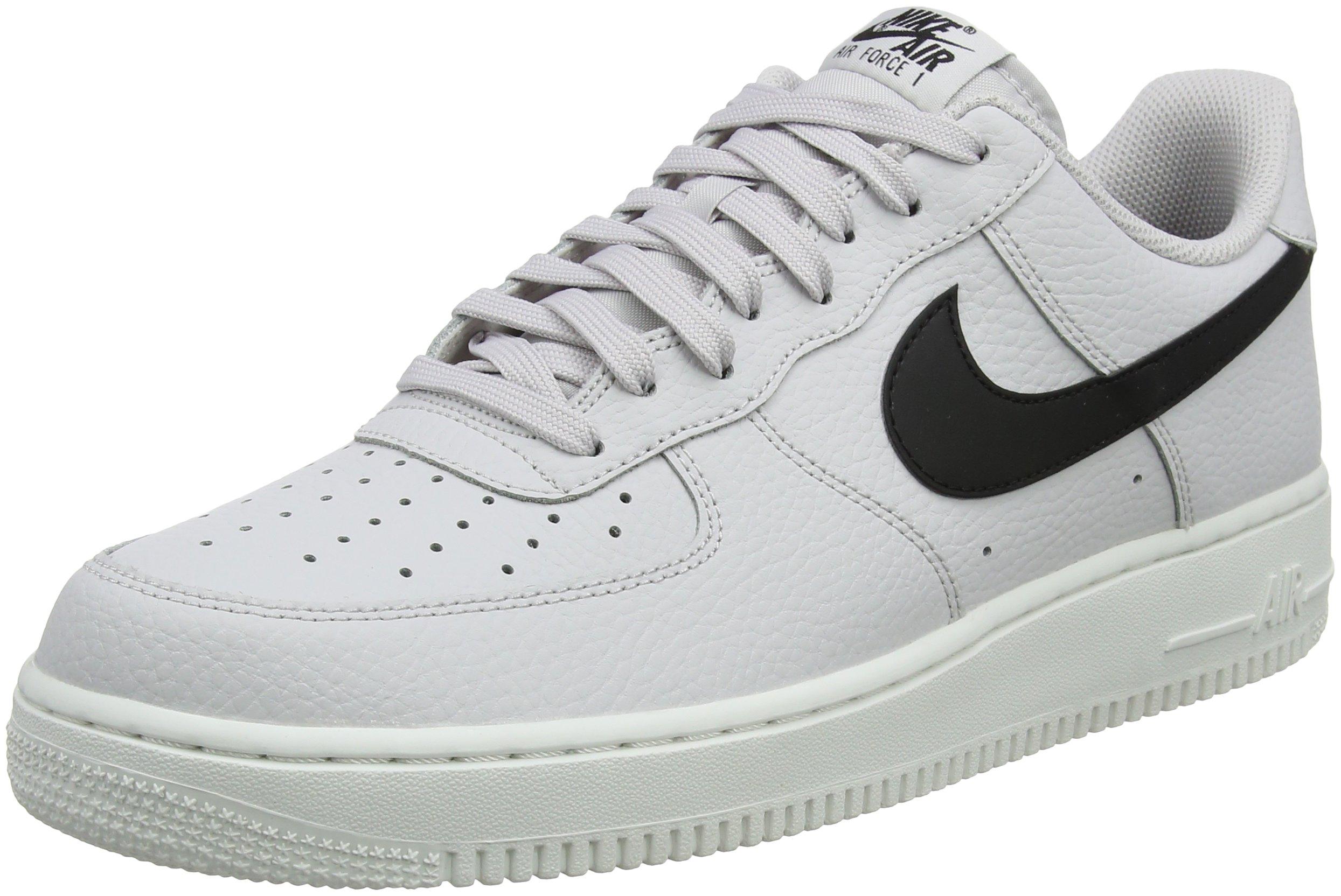 Nike Men's Air Force 1 '07 Low-Top Sneakers, White (Vast Grey/Black-Summit  White 008), 9.5 UK 44.5 EU on Galleon Philippines