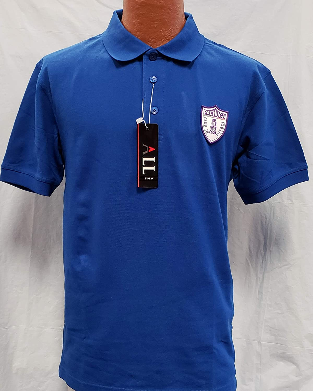 Tuzos de Pachuca Generica Polo Shirt with Patch Adult Size L Liga MX New