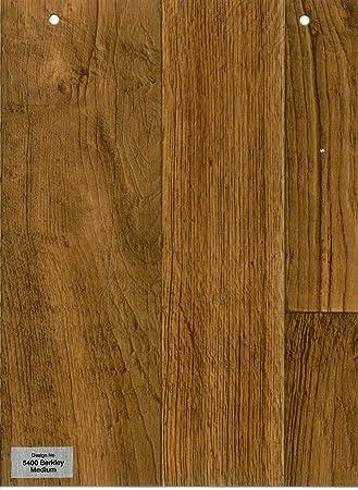 Furnishingsuk 5400 Berkley Medium Wood Effect Anti Slip Vinyl