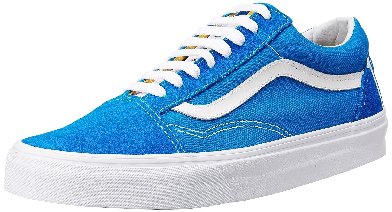 Vans Unisex Old Skool Classic Skate Shoes B01I2B4V7Q 6.5 B(M) US Women / 5 D(M) US Men|(1966) Blue/White/Red