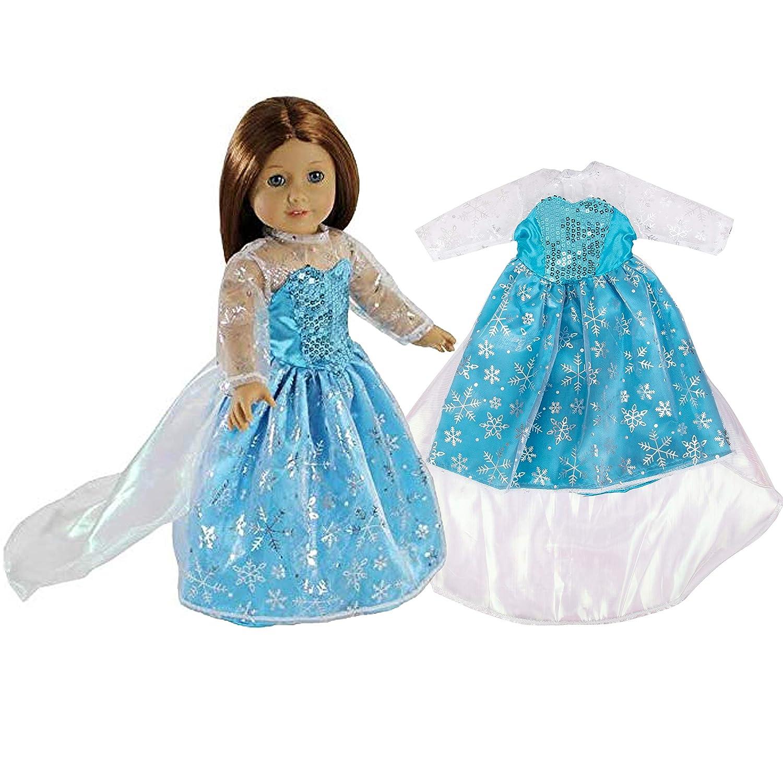 Amazon.com: Elsa inspirado Princesa ropa de muñeca para ...