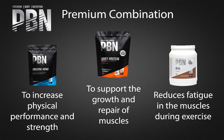 PBN - Premium Body Nutrition PBN - Paquete de caseína micelar, 1 kg (sabor vainilla)