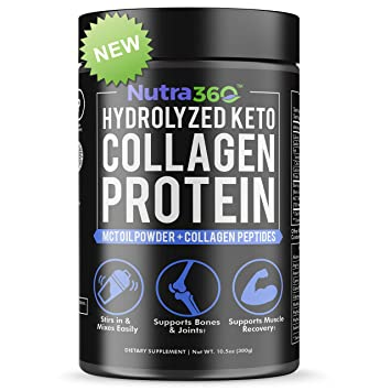 Amazon.com: Nutra360 Collagen Peptides Proteína con polvo de ...
