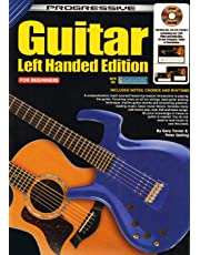 CP11824 - Progressive Guitar Left Handed Edition for Beginners - Bk/DVD Rom