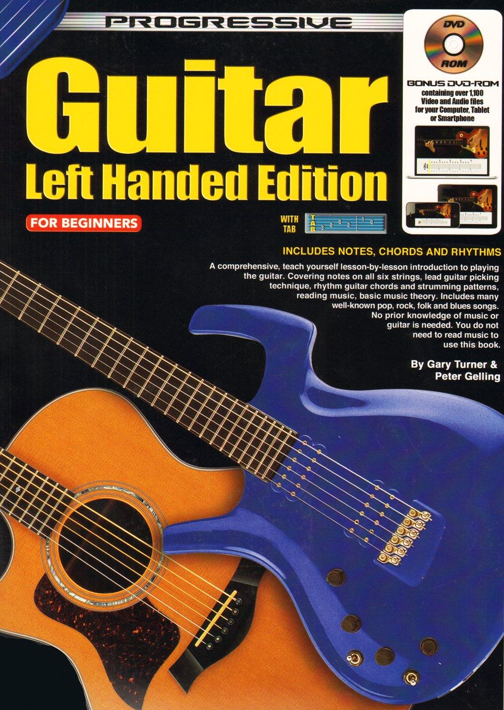 Cp11824 Progressive Guitar Left Handed Edition For Beginners Bk