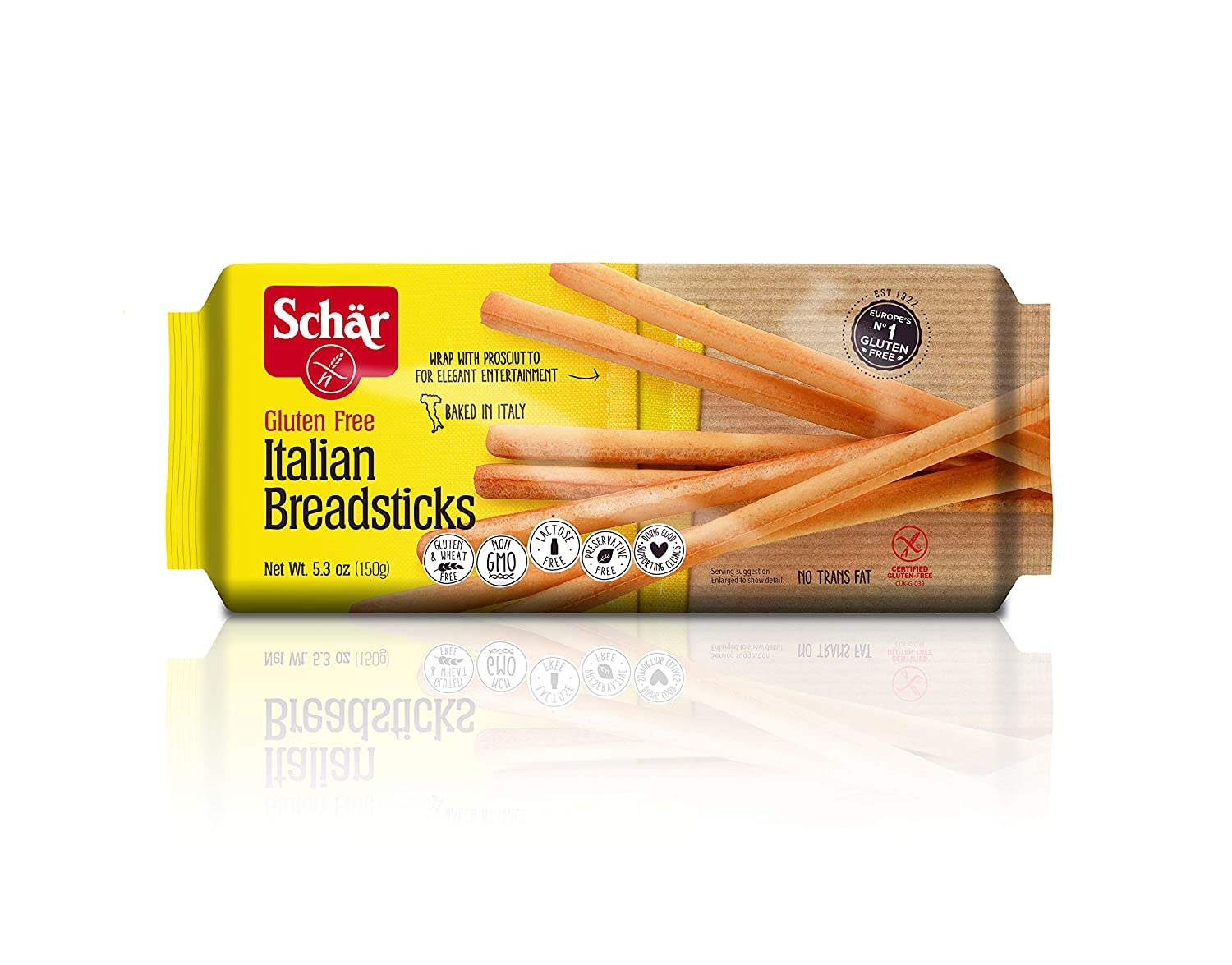 Amazon Com Schar Gluten Free Italian Breadsticks 5 3 Oz 5 Pack