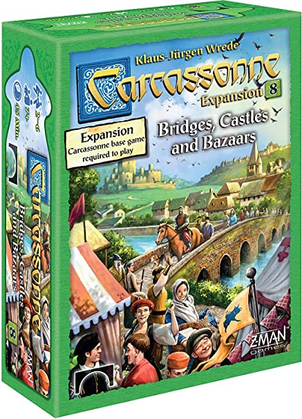 Z-Man Games Carcassonne Expansion 8 - English: Amazon.es: Juguetes y juegos