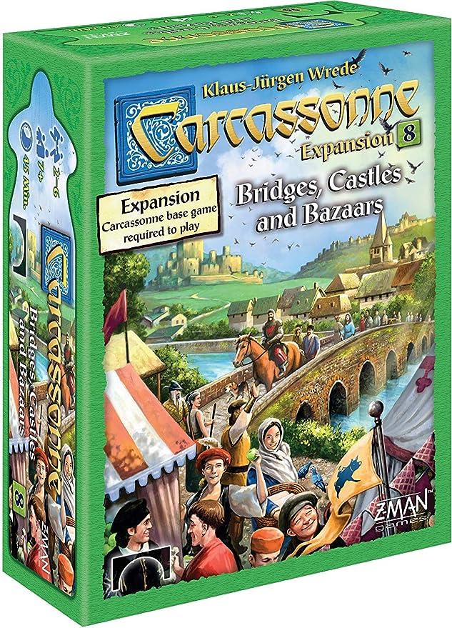 Z-Man Games Carcassonne Expansion 8 - English: Amazon.es: Juguetes y juegos