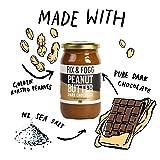Gourmet Dark Chocolate Peanut Butter. Handmade in