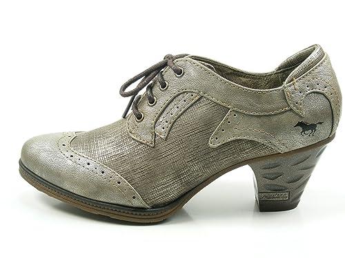 Mustang 1255-202 Zapatillas para Mujer, Schuhgröße_1:38 EU;Farbe:Gris: Amazon.es: Zapatos y complementos