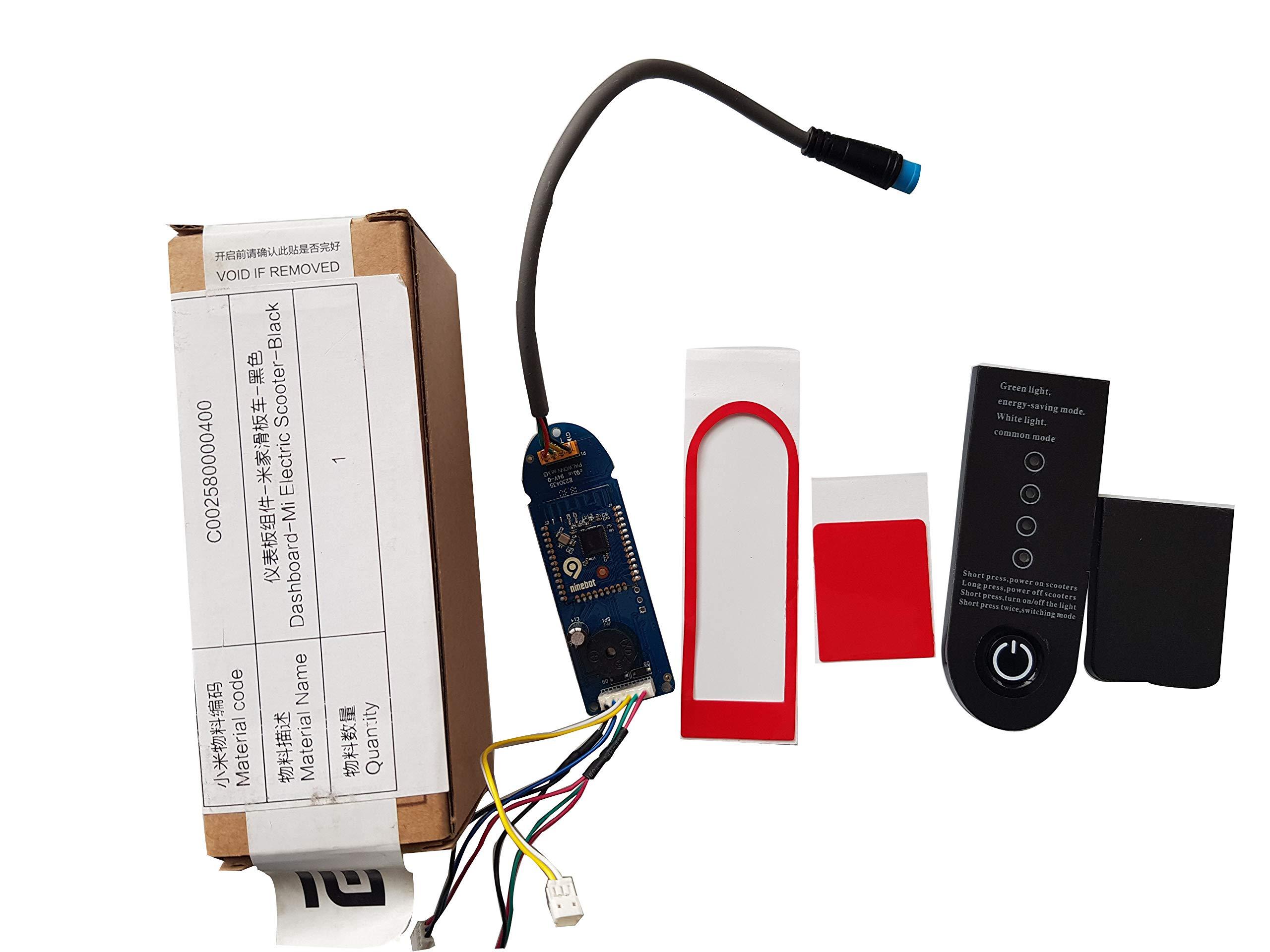SPEDWHEL Original Dashboard for XIAOMI MIJIA M365 Electric Scooter Instrument Circuit Board (Original Dashboard with Cover&Stickers) by SPEDWHEL