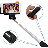 Selfie Stick, Liger Wireless Bluetooth Extendable Selfie Stick with Remote Shutter for iphone 6, 6 plus, iphone 5 5s 5c, Samsung Galaxy S5/S4/S3, Note 3/2, Google Nexus 7 (SELFIESTICK-BT)
