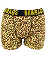 BawBags Leopard Boxers - Yellow
