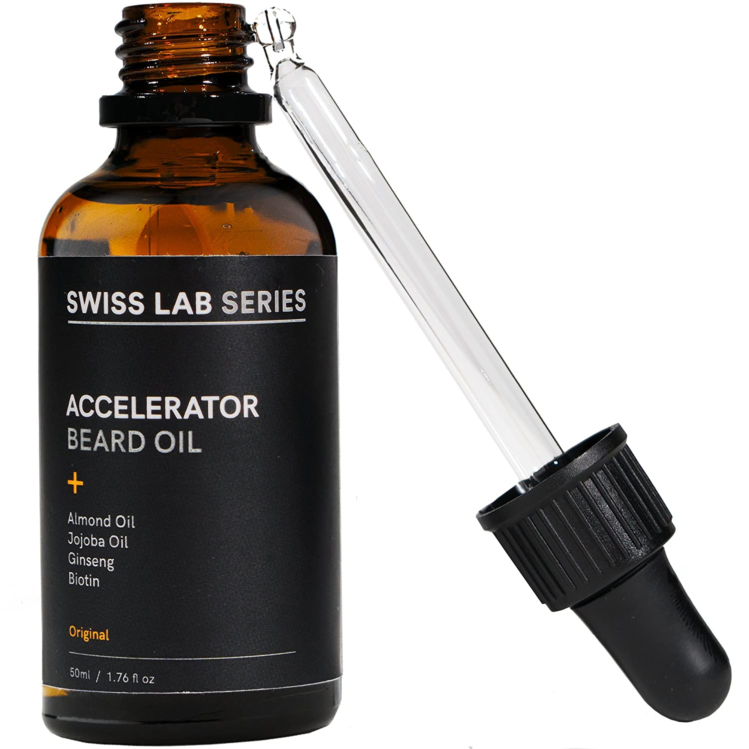 Want a Thicker Softer Beard? Beard Oil For Men From Swiss Lab Series ...