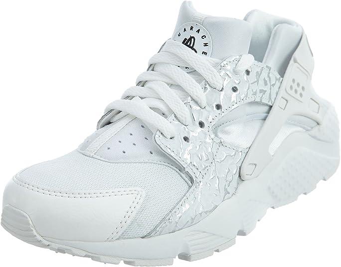 Zapatillas Nike – Huarache Run Se (GS) Blanco/Plateado/Blanco ...
