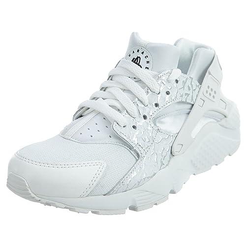 the latest 59d68 698ef Zapatillas Nike - Huarache Run Se (Gs) blancoplateadoblanco talla 37,5  Amazon.es Zapatos y complementos