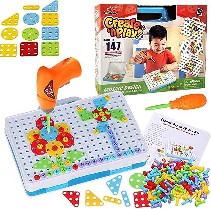 Creative Mosaic Drill Set Children Toy Gifts