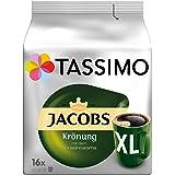 Tassimo Jacobs Krönung XL, Arabica, Capsule Caffè, Caffè Tostato Macinato, 16 T-Discs