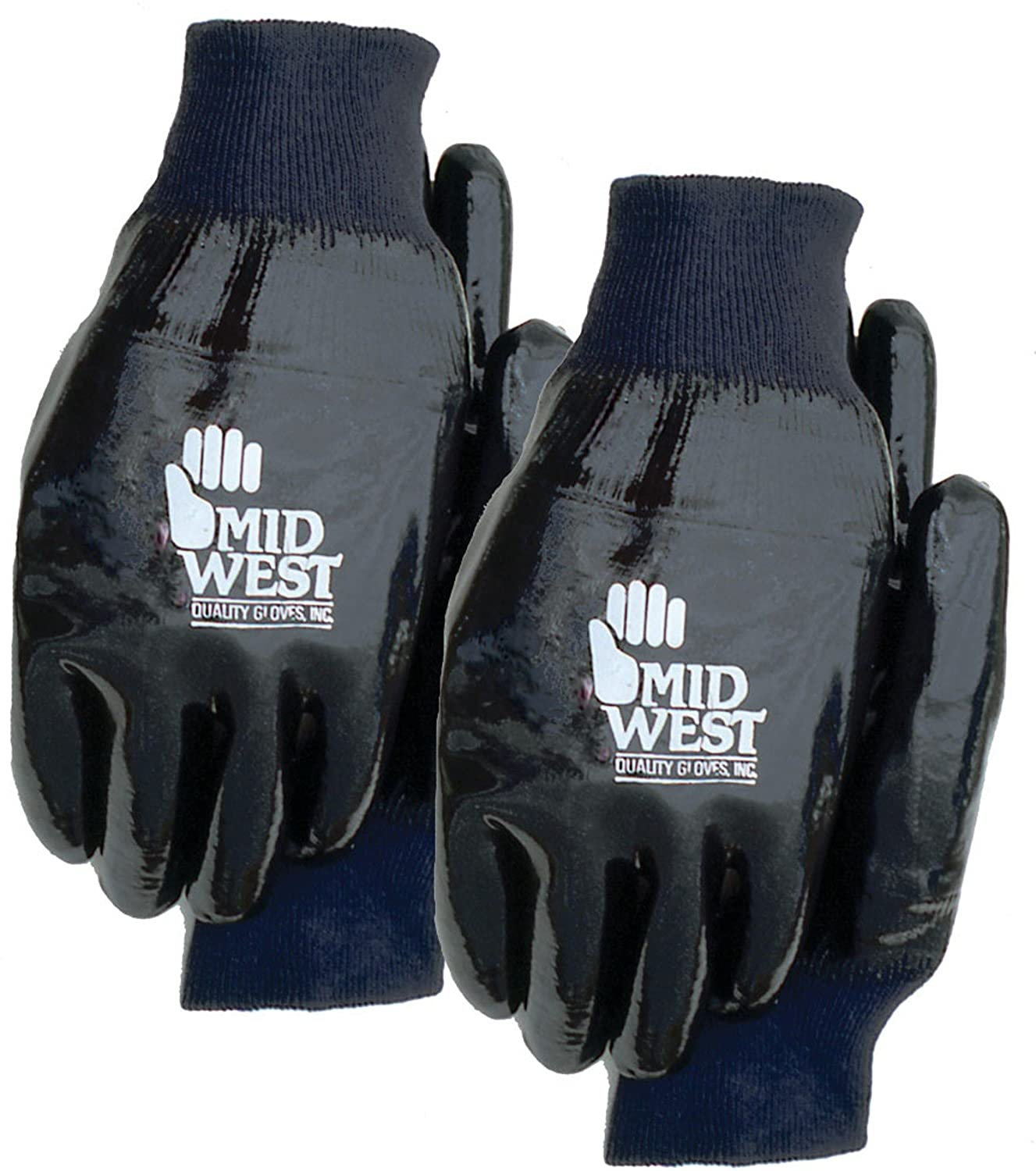 Midwest Gloves and Gear 5122P02-L-AZ-6 Neoprene and Cotton Lined Work Glove, Large, 2-Pack by Midwest Gloves & Gear B00EARD4TI