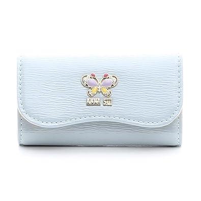 93919b4ad5f8 ANNA SUI アナスイ キーケース 鍵財布 レディース サイフ さいふ キー財布 キーホルダー (ブルー)
