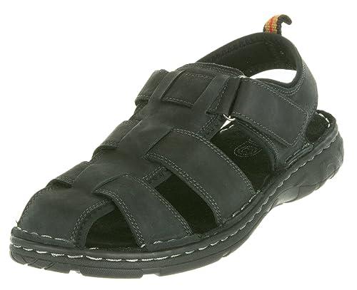 b04ddccbcc7 Beppi - Zapatillas para Deportes de Exterior de Piel para Hombre Negro Negro