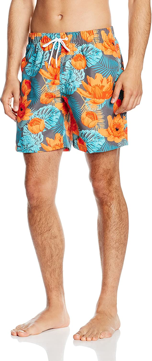 Miami Beach Swimwear Flower - Shorts Hombre