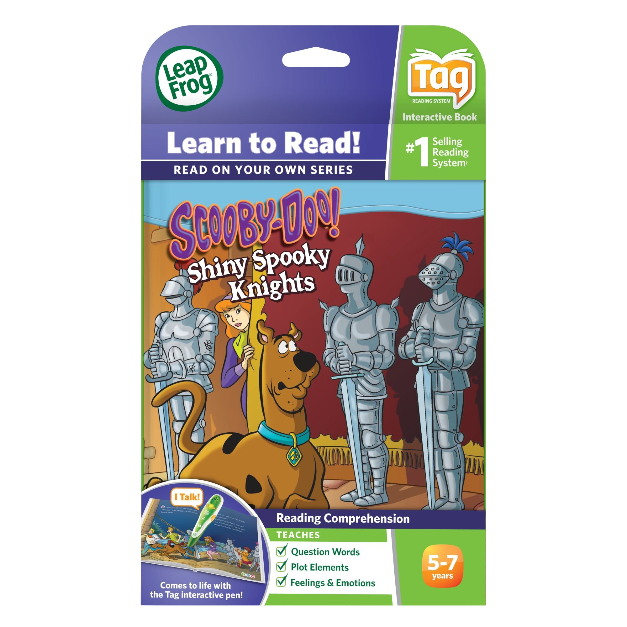 LeapFrog LeapReader Book: Scooby-Doo! Shiny Spooky Knights (works with Tag) by LeapFrog (Image #4)