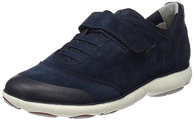 Geox J Nebula Boy 1 Sneaker Navy 24 EU(8 M US Toddler)
