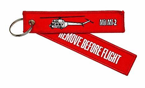 quitar antes de vuelo ---MIL MI-2 (helicóptero) ---Equipaje ...